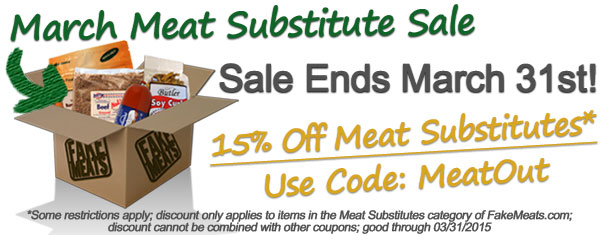 Meat Substitutes Sale