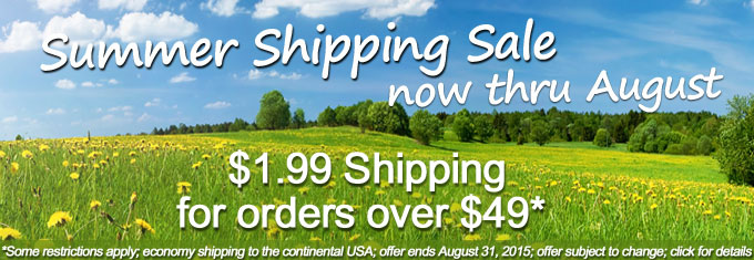 Summer Shipping Sale