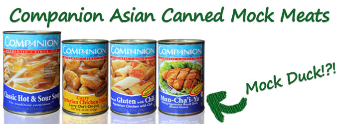 Companion Asian Canned Mock Meats