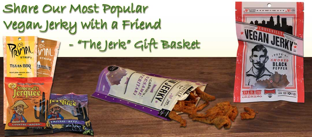 Vegetarian Recipe Gift Baskets
