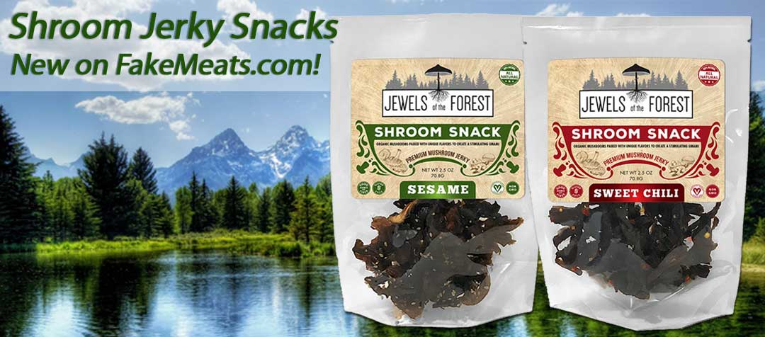 Jewels of the Forest Mushroom Jerky